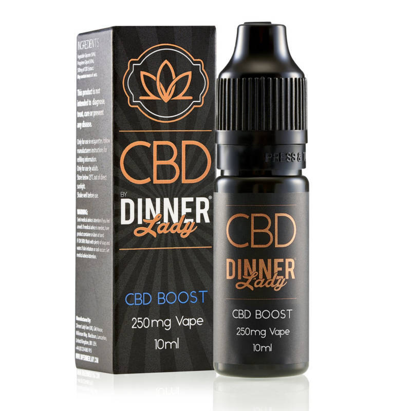 CBD Boost E-Liquid by Dinner Lady 10ml 250mg