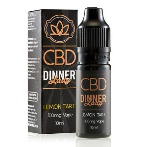 Dinner Lady CBD Lemon Tart
