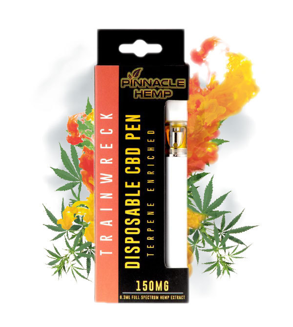 Trainwreck 150mg CBD Disposable Pen
