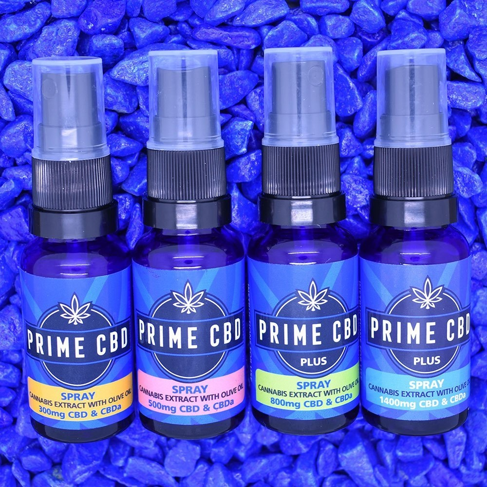 Prime CBD Spray Non Flavoured