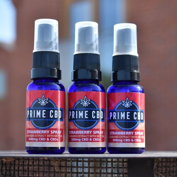 PrimeCBD Strawberry CBD Spray